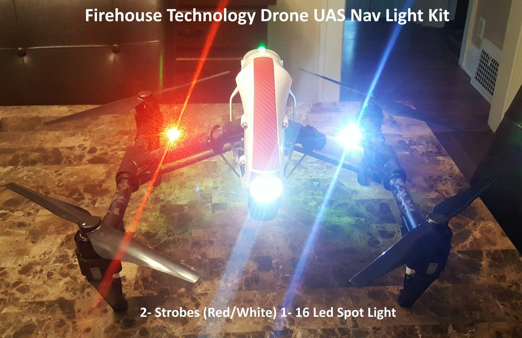 Drone DJI UAS Strobe Light Spotlight Kit Drone Quadcopter ...