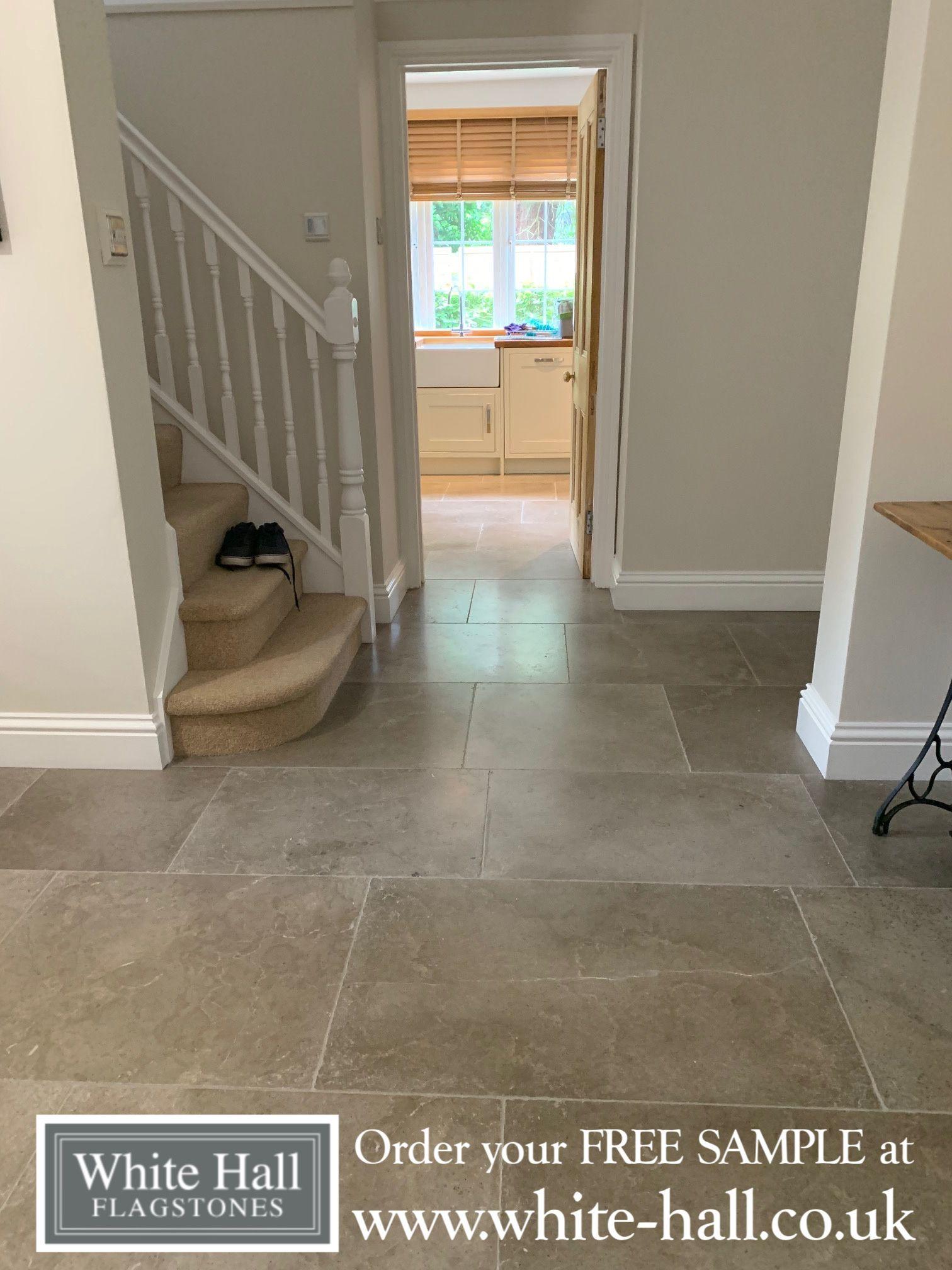 Highland Grey Flagstone Flagstone flooring, Dining room