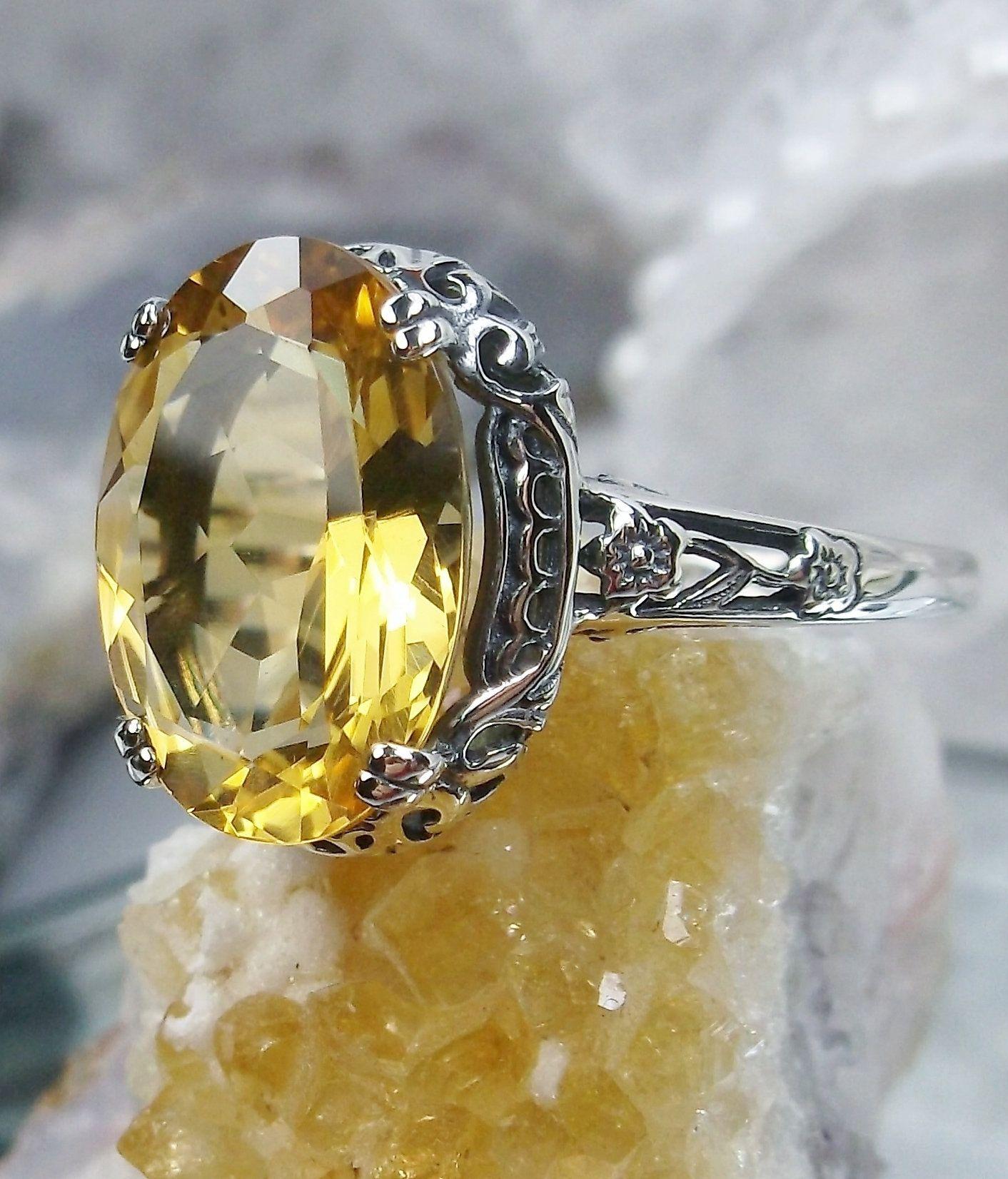 Womens Ring-Citrine Ring-Natural Citrine Ring-Womens Jewelry-Womens Designer Ring-Gift For Her-November Birthstone Ring-Ruby Ring-Women Gift