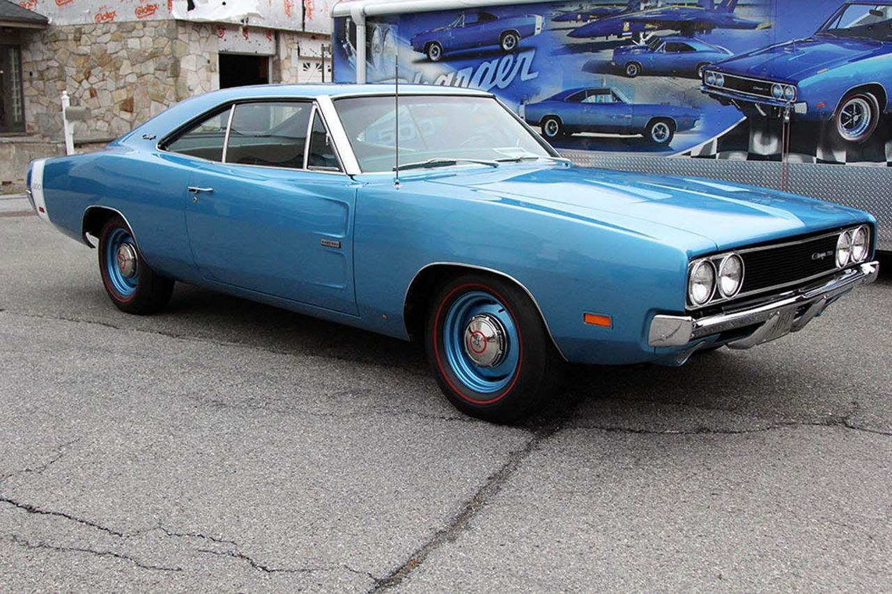 This Is The Only 1969 Hemi Charger 500 In Bright Blue With Matching Dodge Interior A 4 Speed That Made