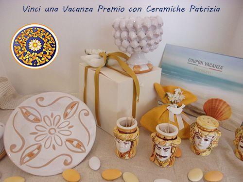 Vacanze premio offerte da ceramiche patrizia: acquistando bomboniere