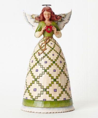 Irish Angel Figurine #zulily #zulilyfinds