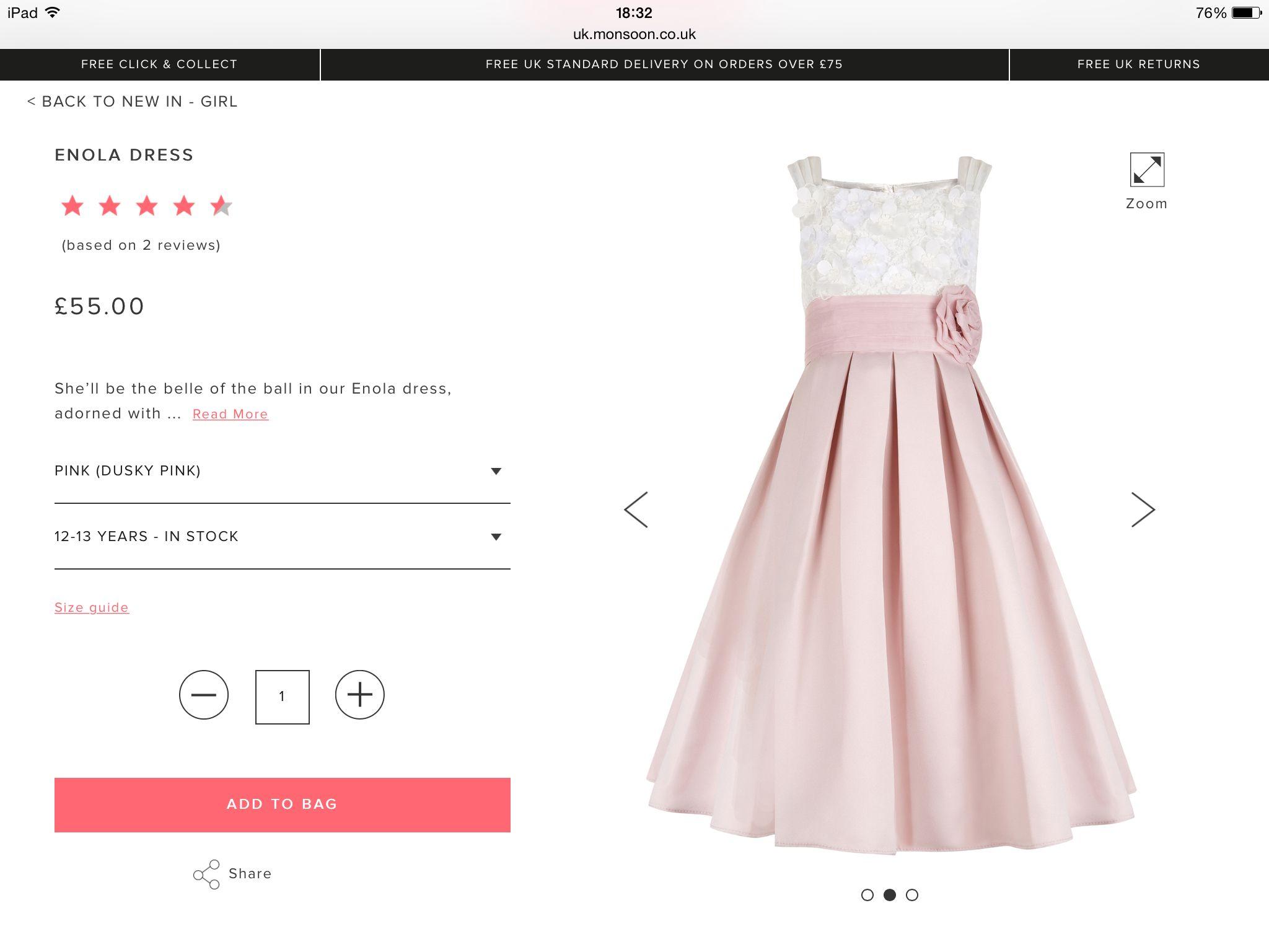 Simple dusky pink flower girl dress wedding pinterest pink simple dusky pink flower girl dress mightylinksfo
