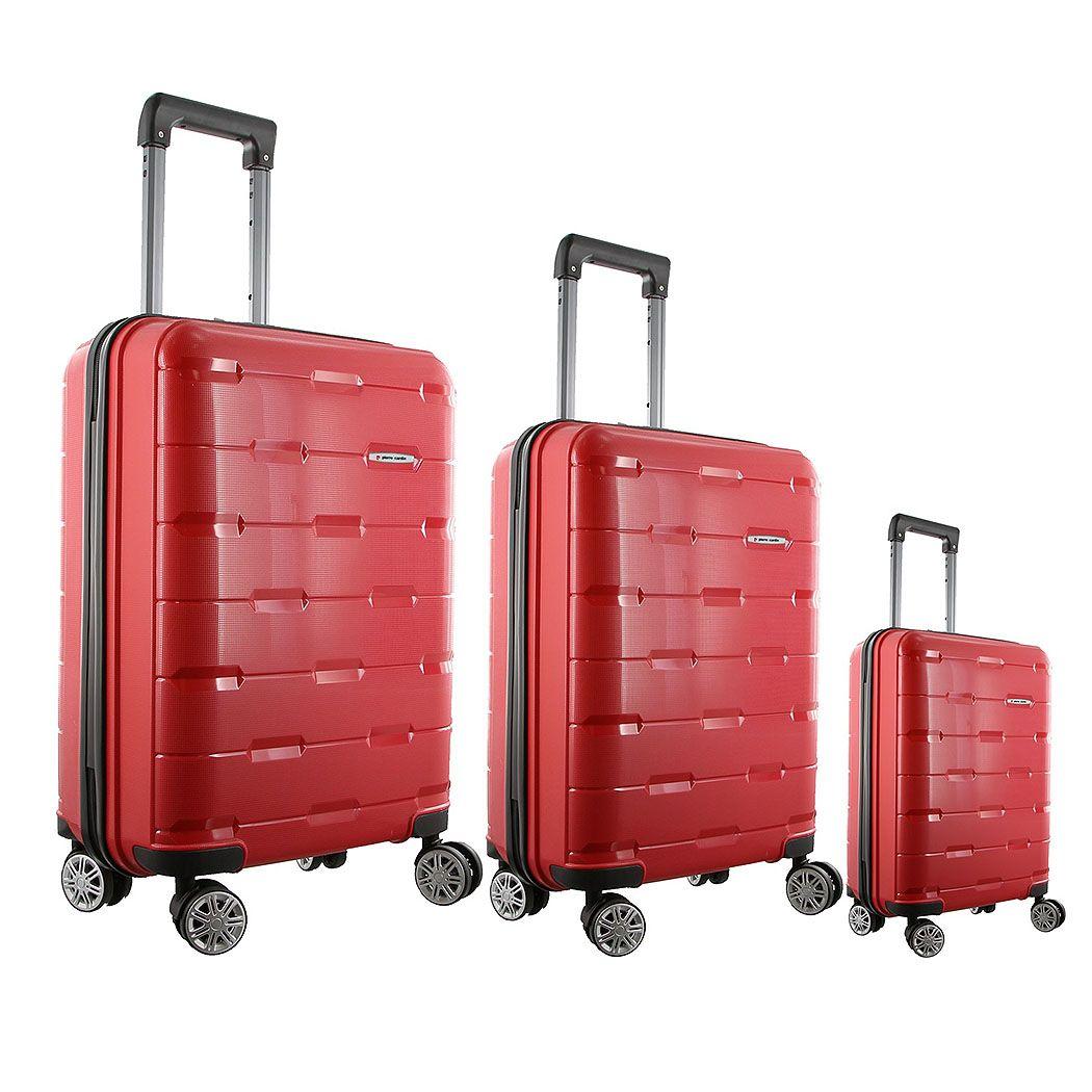 Pierre Cardin Designer Suitcase Set PC2029 On sale now - one low ...