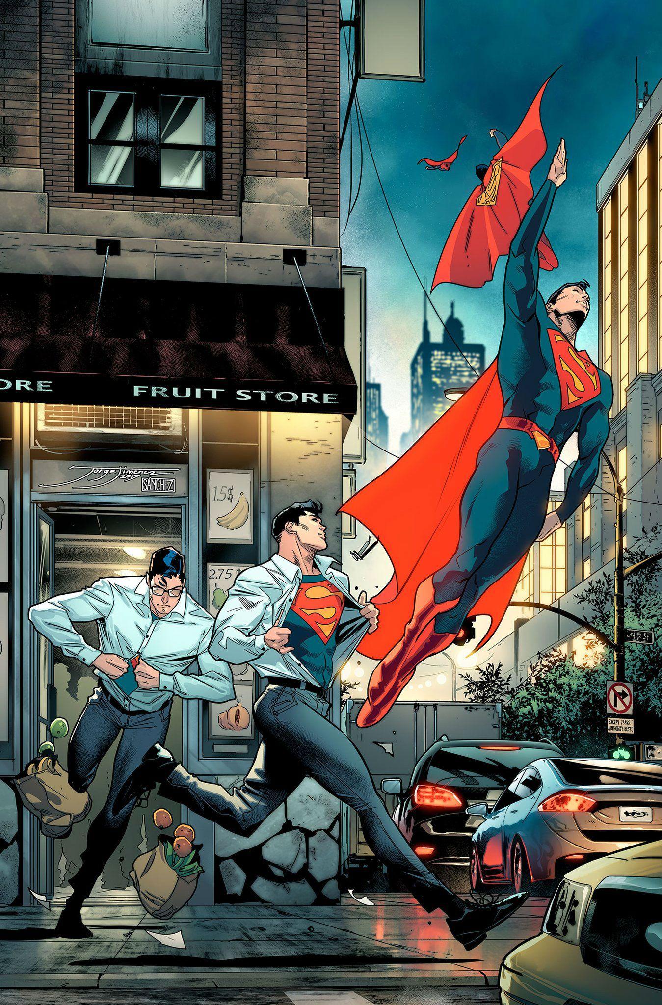 Superman by Jimenez. For similar content follow me