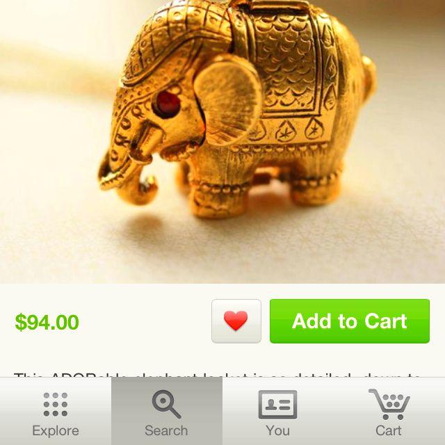 My favorite animal. #Elephants #Etsy