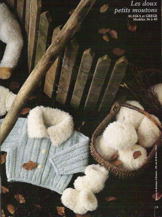 Cre@tii de la Pingouin - tricotaje pentru copii - Ligia Botezatu - Picasa Web Albümleri