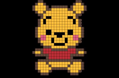 Graph Paper Pixel Art Golonwpartco