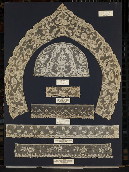 Cap crown | V&A Search the Collections. Cap crown, needle lace, made in Alençon, France, 1730-1769
