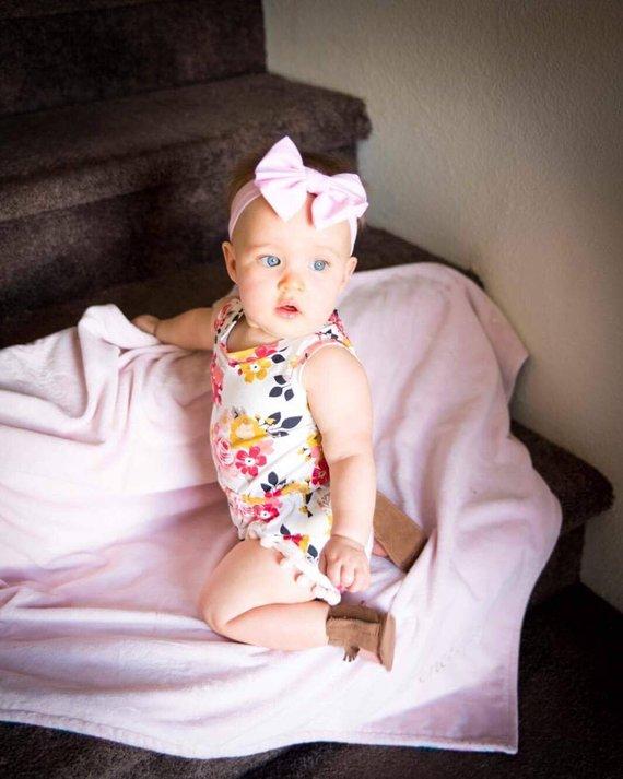 8450b865e Baby Romper; Infant Romper; Baby Shower Gift; Handmade Baby Gift; Baby Girl  Clothes; Baby Girl Outfi