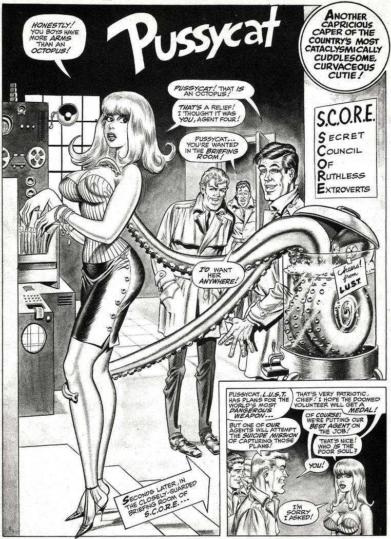 Seks komiks kreskówka
