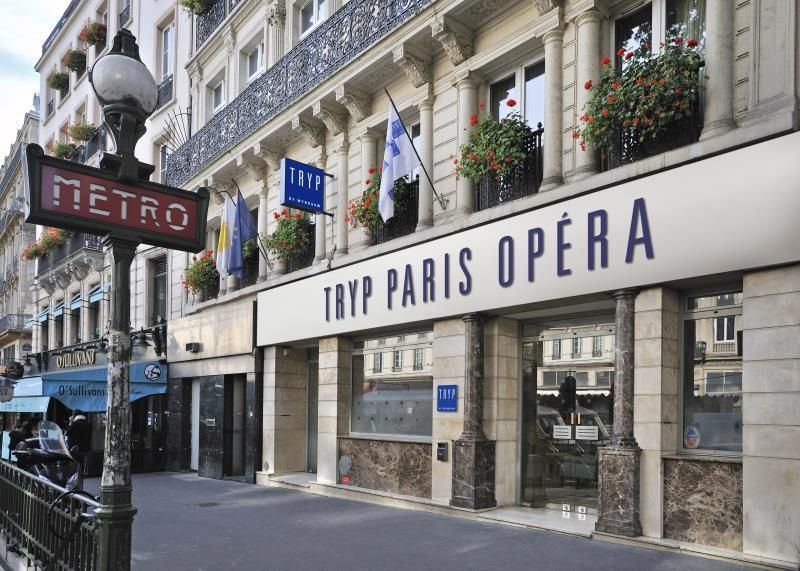 Paris Tryp Opera Hotel France Europe Located In 2nd Louvre Bourse
