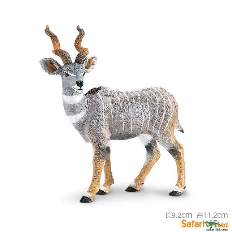 Brand New Animals Figure Toys Kudu 11.2cm High PVC Action ...