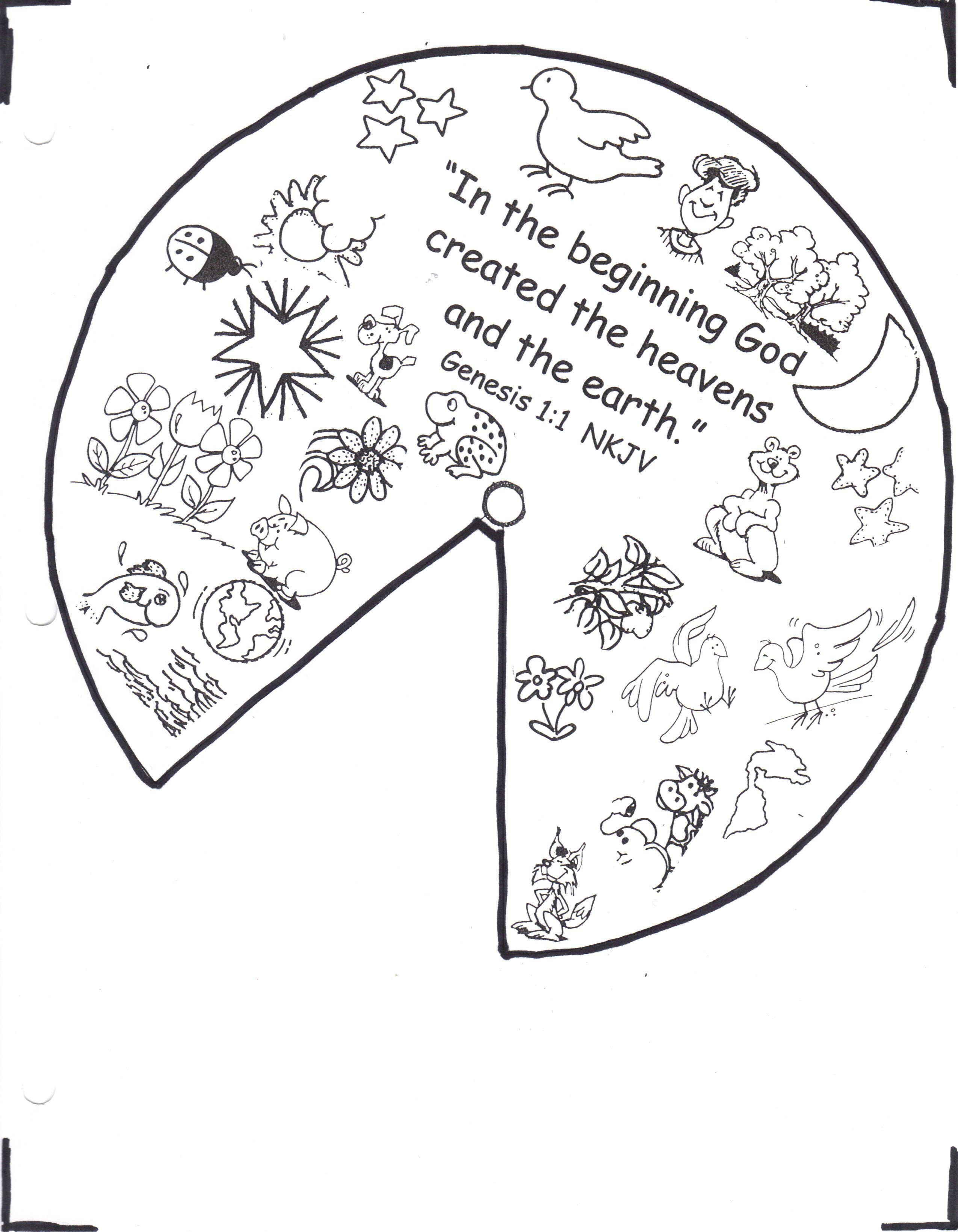 Good samaritan sunday school craft - Sunday School Crafts Creation Wheel Craft Creation Wheel Part 1 More