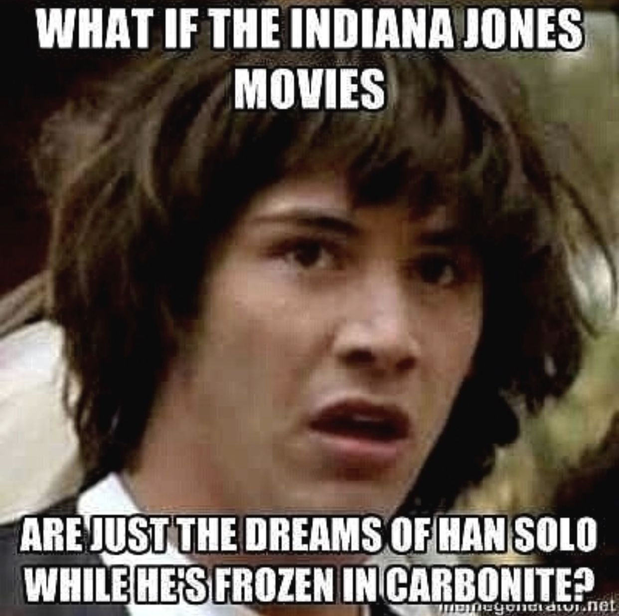 Star Wars Deep Thoughts Memes Love It Cool Geeky Star Wars Memes Behind The Scenes Star Wars Fans