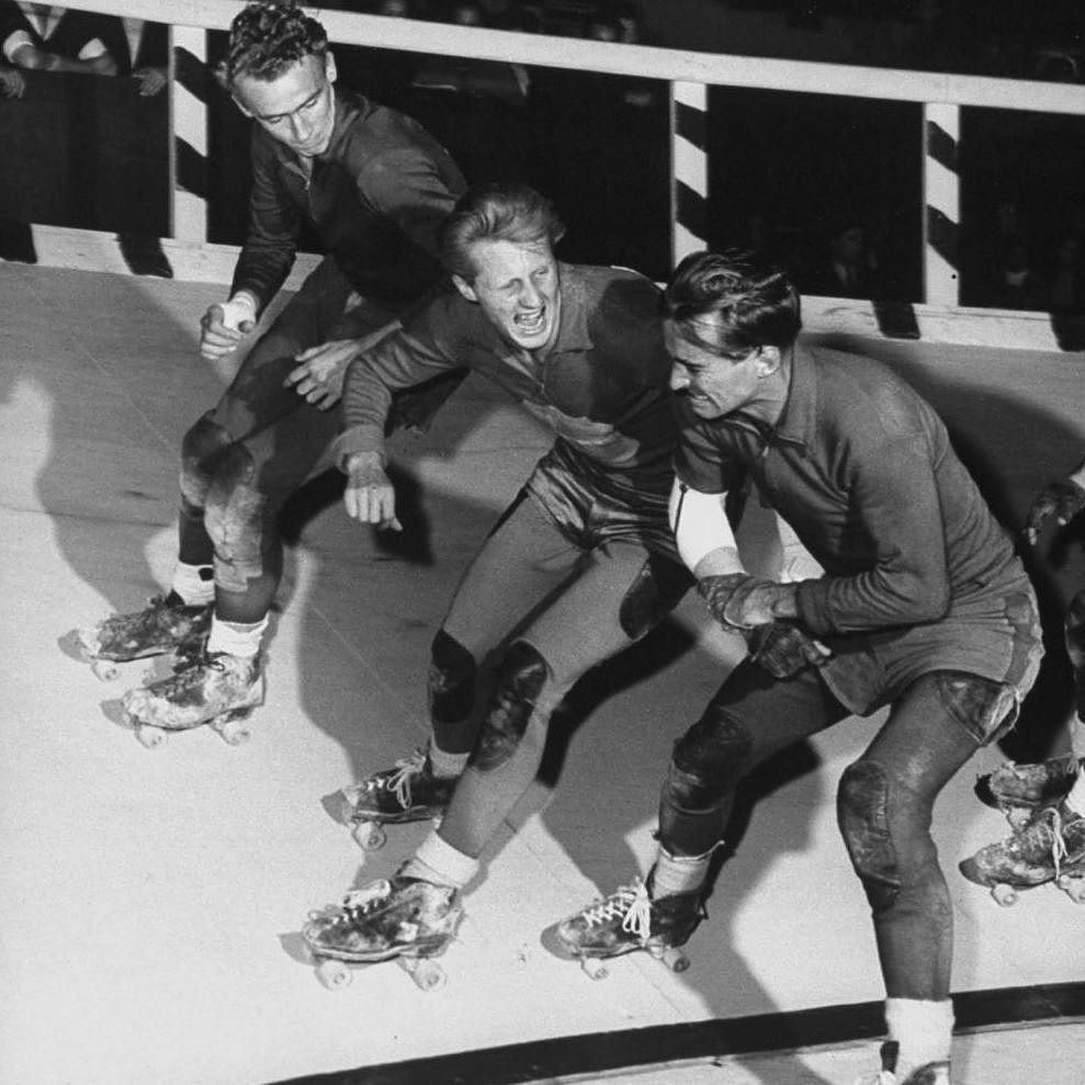 Brush Up On Your History Inklings Of Roller Derby Are Believed To