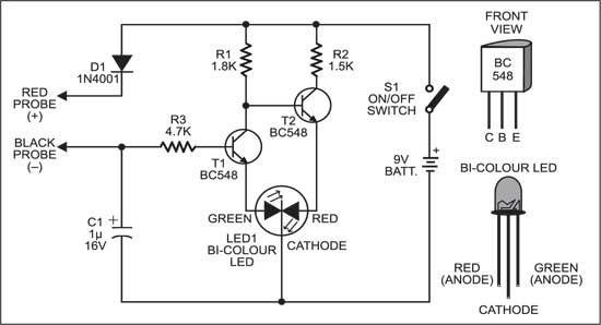 Multitester For Various Electronic Components