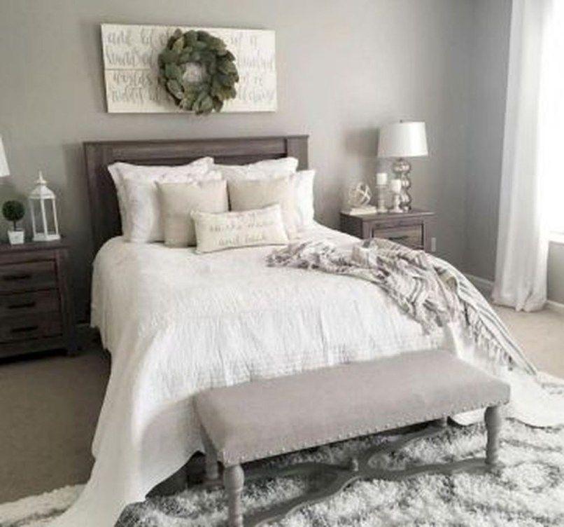 30 pretty farmhouse master bedroom decorating ideas