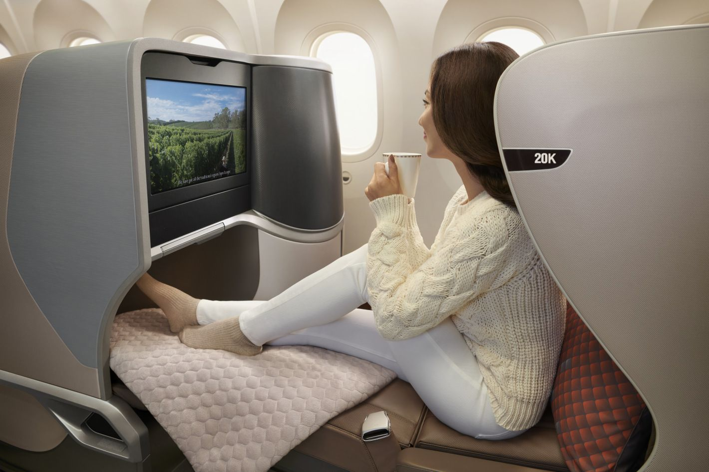 Boeing 787 10 Delivered Singapore Airlines To Feature Beautiful