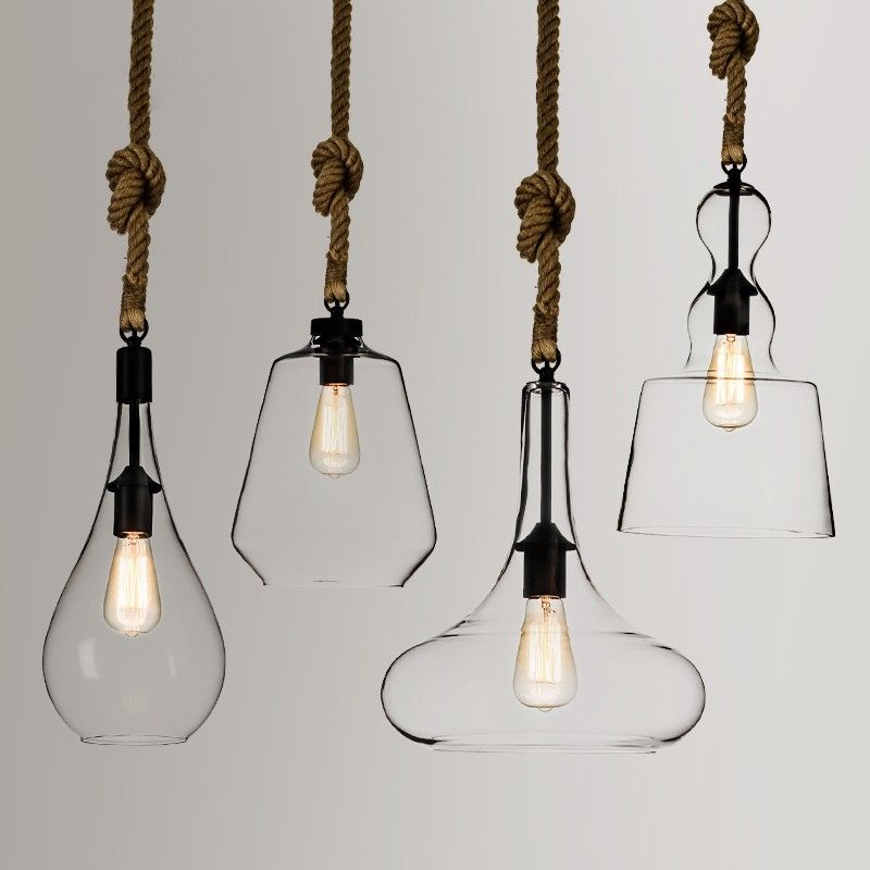 american lamp rope products loft chic edison bulb personality industrial creative eboutique living vintage rustic style for pendant lights