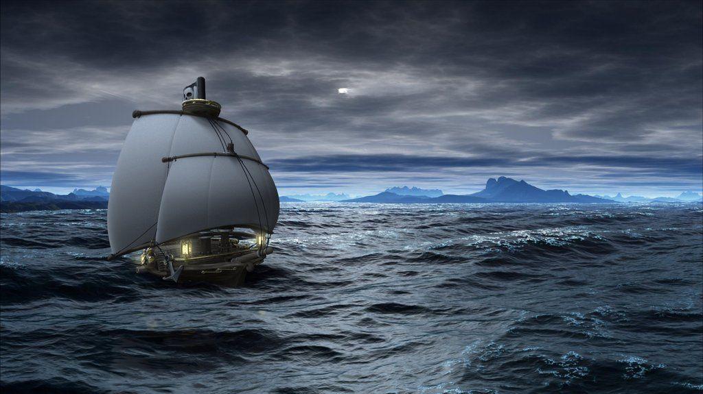 Disneyesque pirate ship by tjentom on DeviantArt