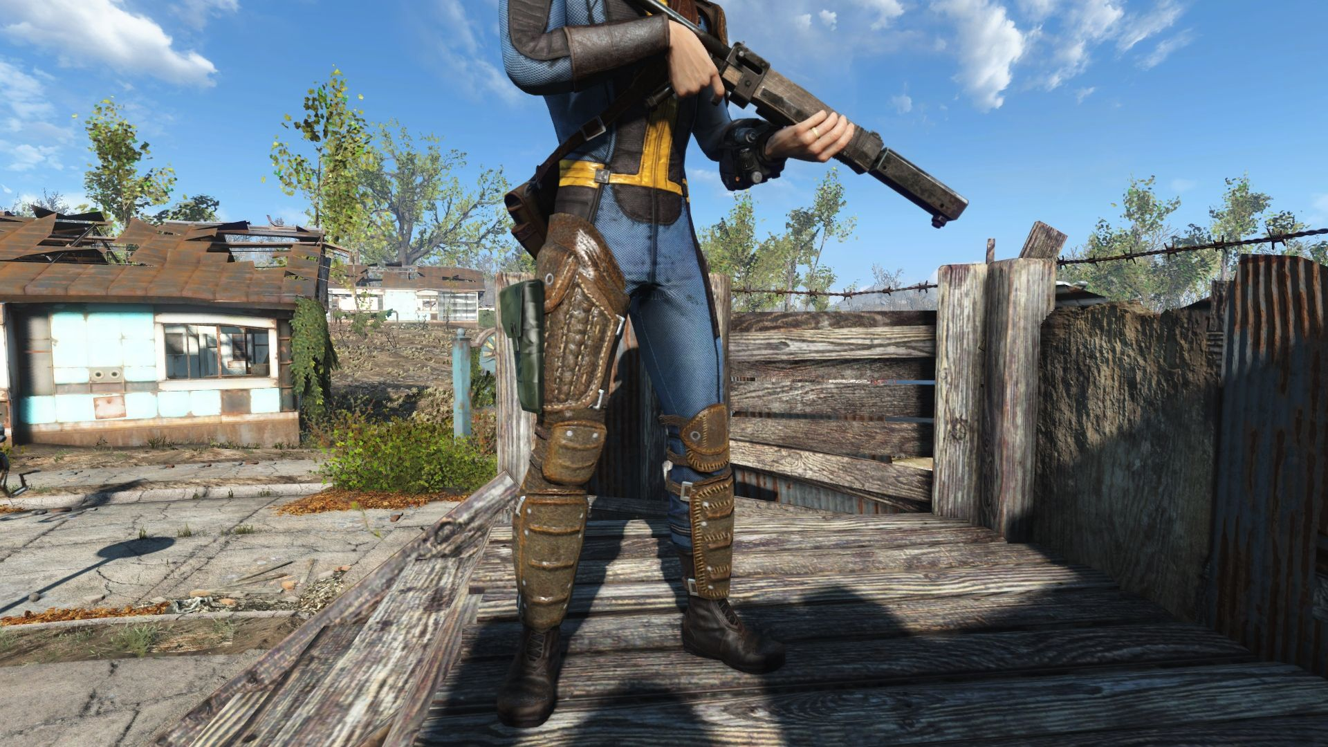 Fallout 4 Leather Armor