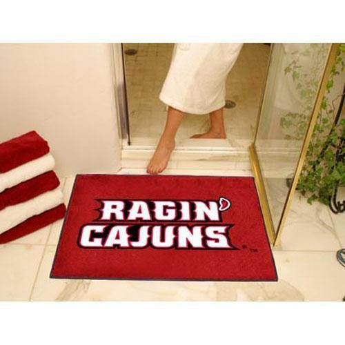 Louisiana Lafayette Ragin Cajuns NCAA All-Star Floor Mat (34x45)