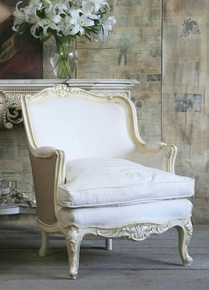 Französische Landhausmöbel Sessel Antik Möbel Landhausstil