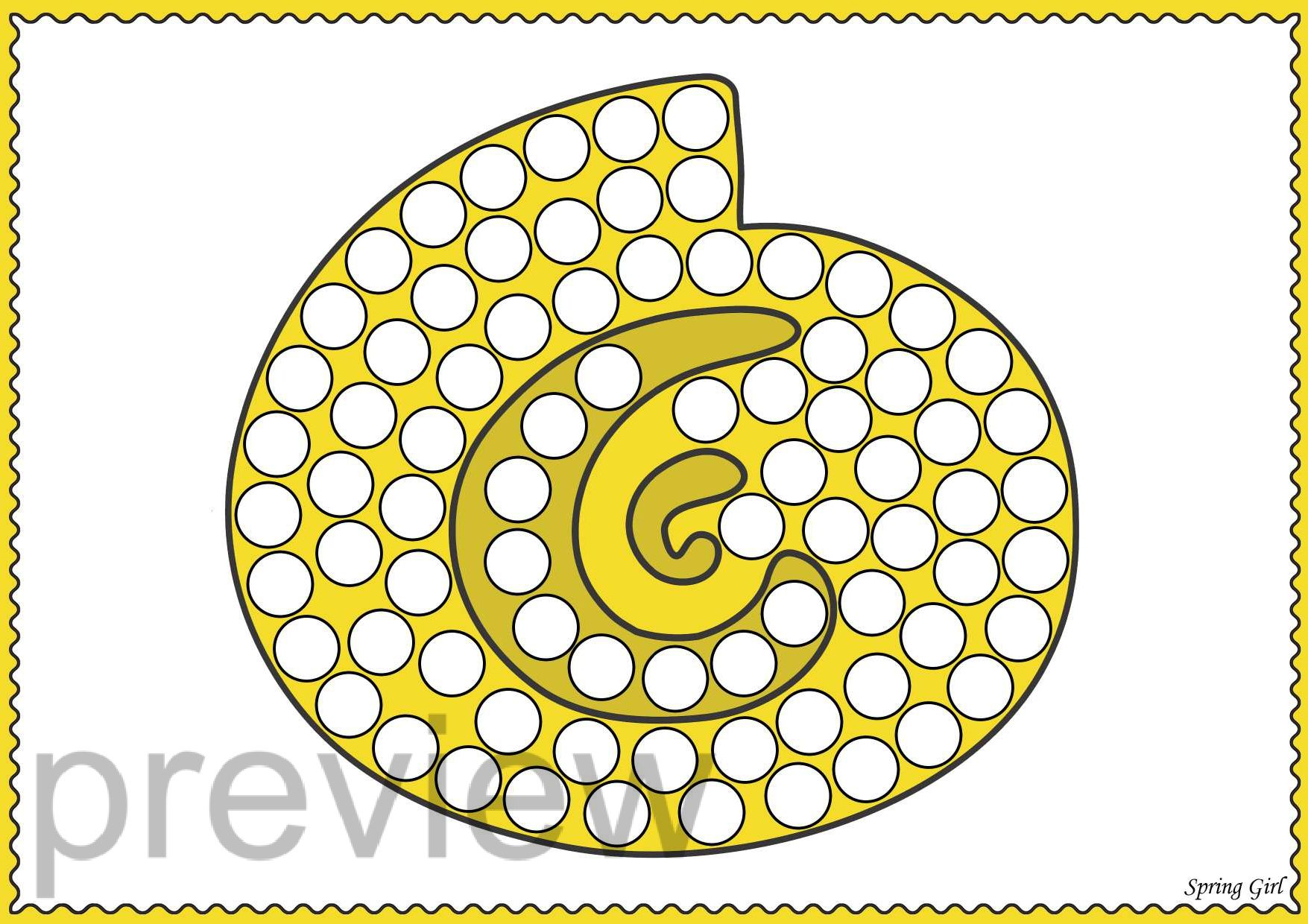 Do A Dot Under The Sea Dot Marker Printables In