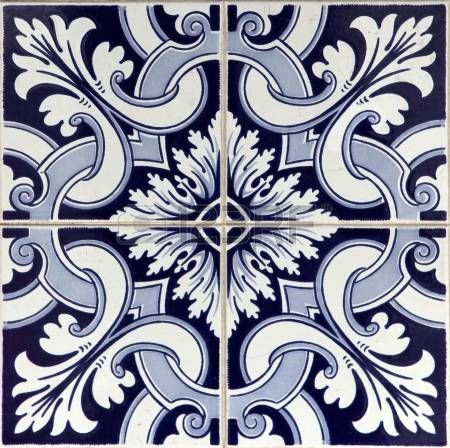 Stock photo piastrelle artistiche piastrelle e pittura for Mattonelle in vinile
