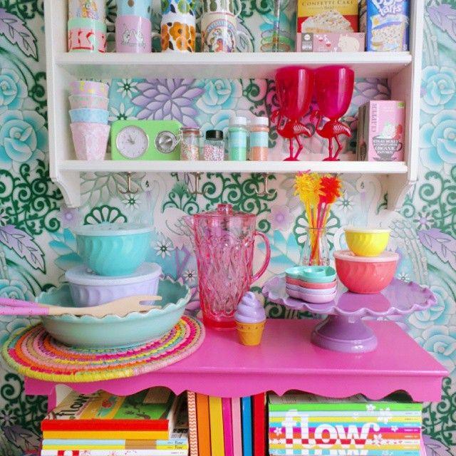 Rainbow Kitchen Decor: I Love Being A @ricedk Ambassador, Their Kitchen Products