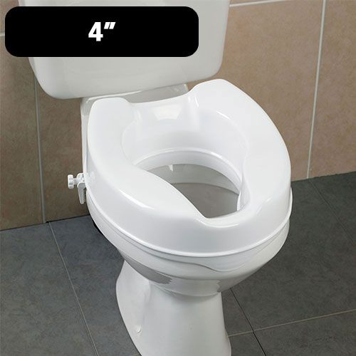 Savanah Raised Toilet Seat 4 Inch Toilet Toilet Seats For