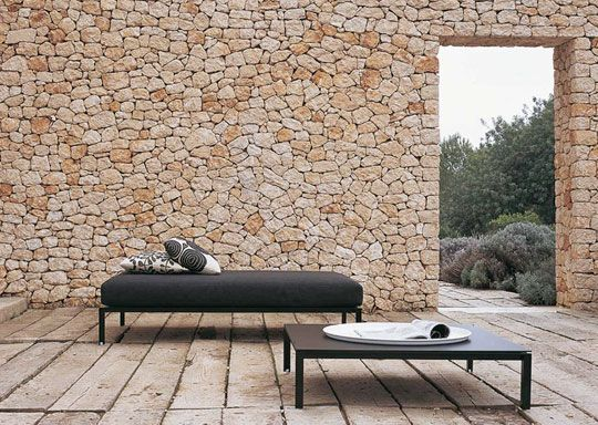 Roundup: Interior And Exterior Stone Walls | Build A Deck, Shower