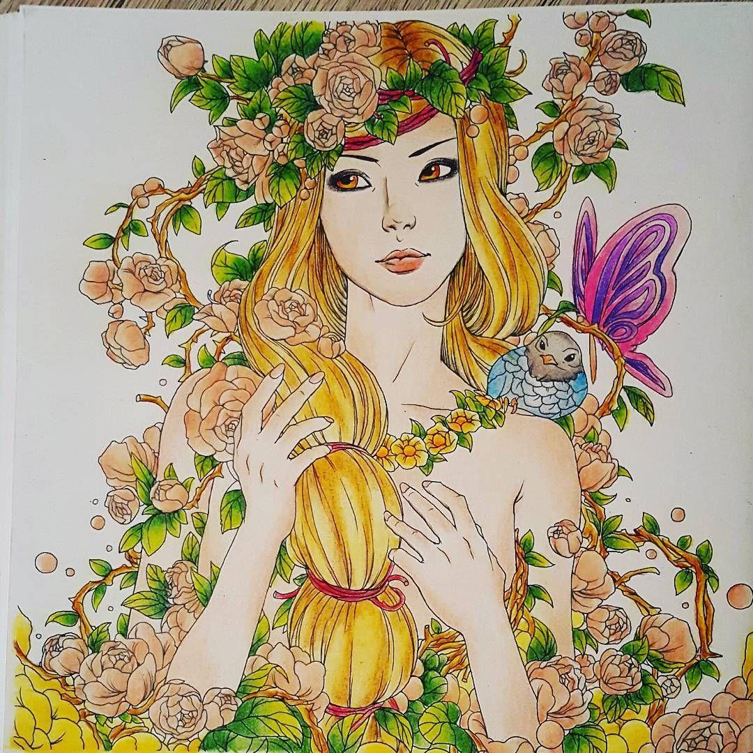 Fantasia Nicholasfchandrawienata Coloringbook Coloringbooksforadult