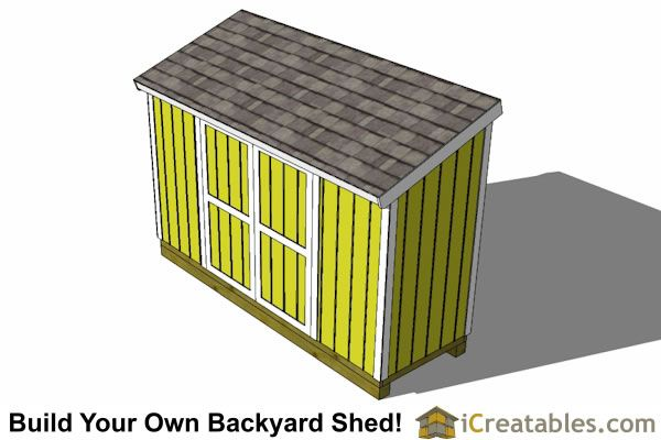 4x12 Lean To Shed Outdoor Shed Plans Small Shed Plans Lean To Shed Plans Small Shed Plans Shed Plans