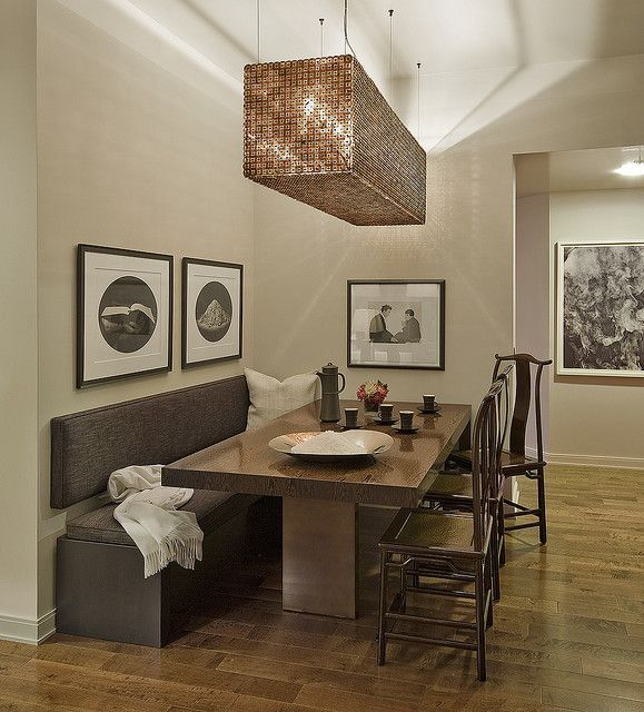 Make A Small Home Look Bigger Move The Dining Table Off Center