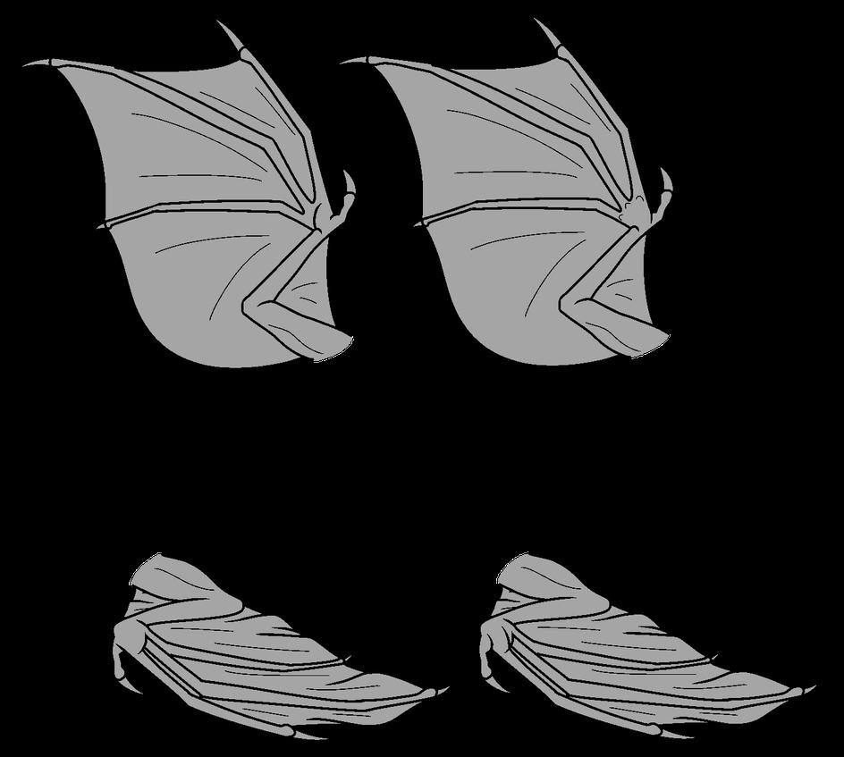 Base Bat Wings F2u By Hovesoffire48 On Deviantart Bat Wings Wings Drawing Wings