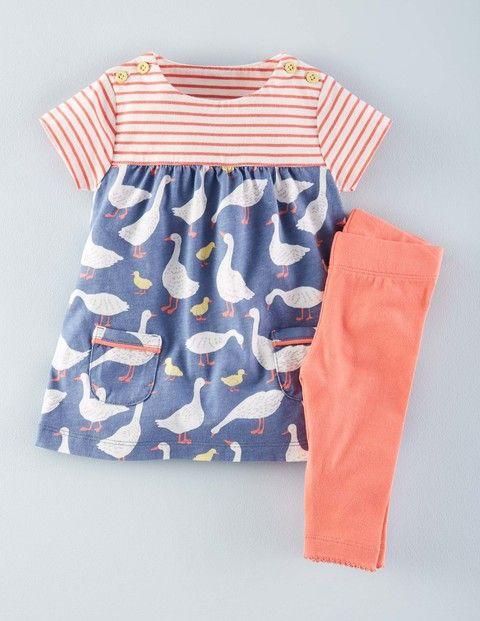Set aus Kleid mit Mustermix & Leggings 73219 Kleider bei Boden ...