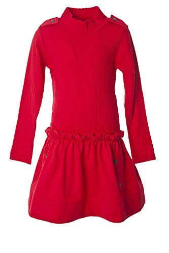 Lili Gaufrette Big Girls' Red Party Casual Dress 10