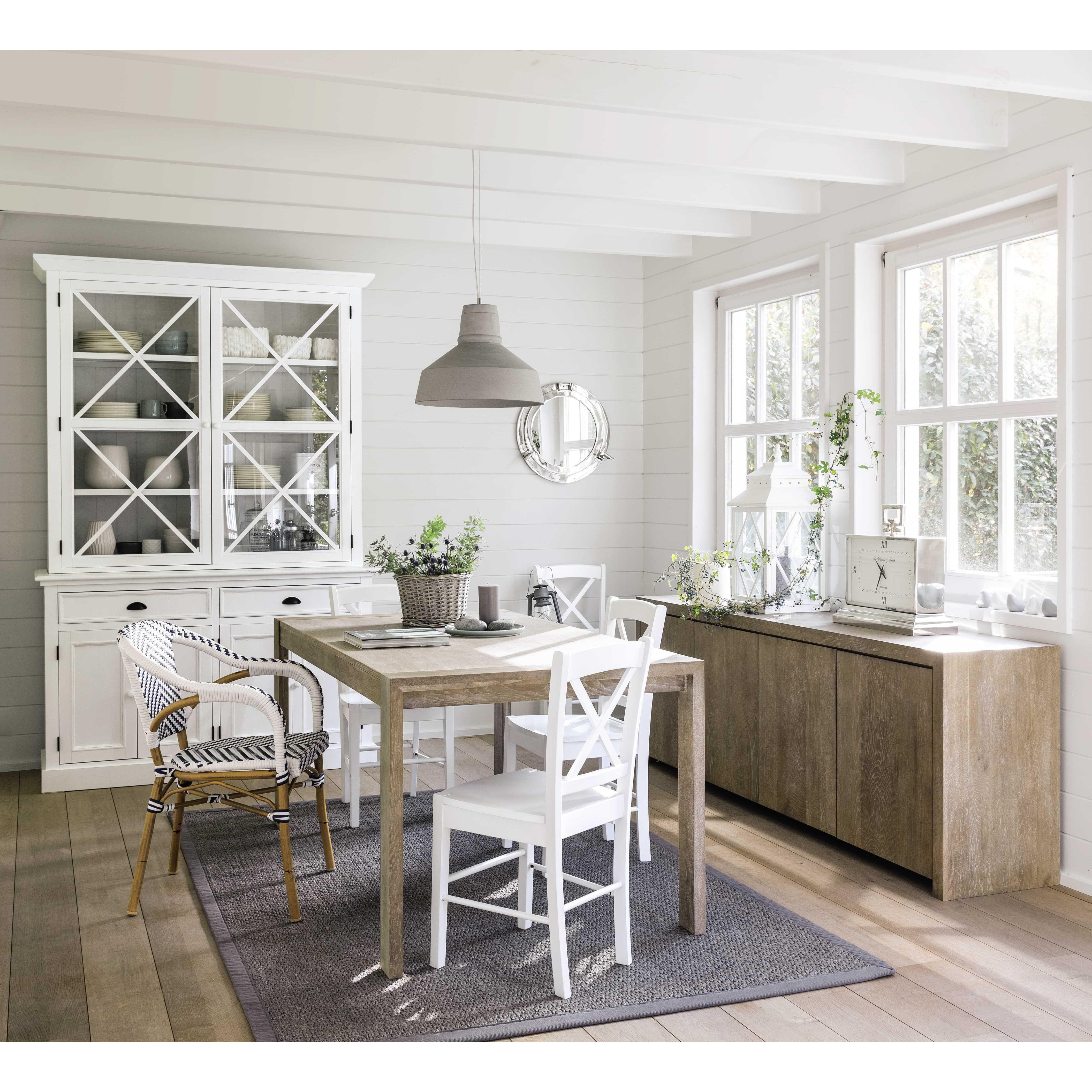 mesa de comedor extensible de 6 a 8 personas cm. Black Bedroom Furniture Sets. Home Design Ideas