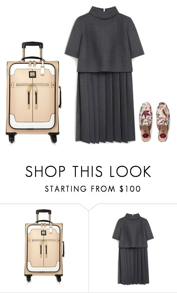 """""""Untitled #3963"""" by michelanna on Polyvore featuring River Island, Mulberry and Gucci"""
