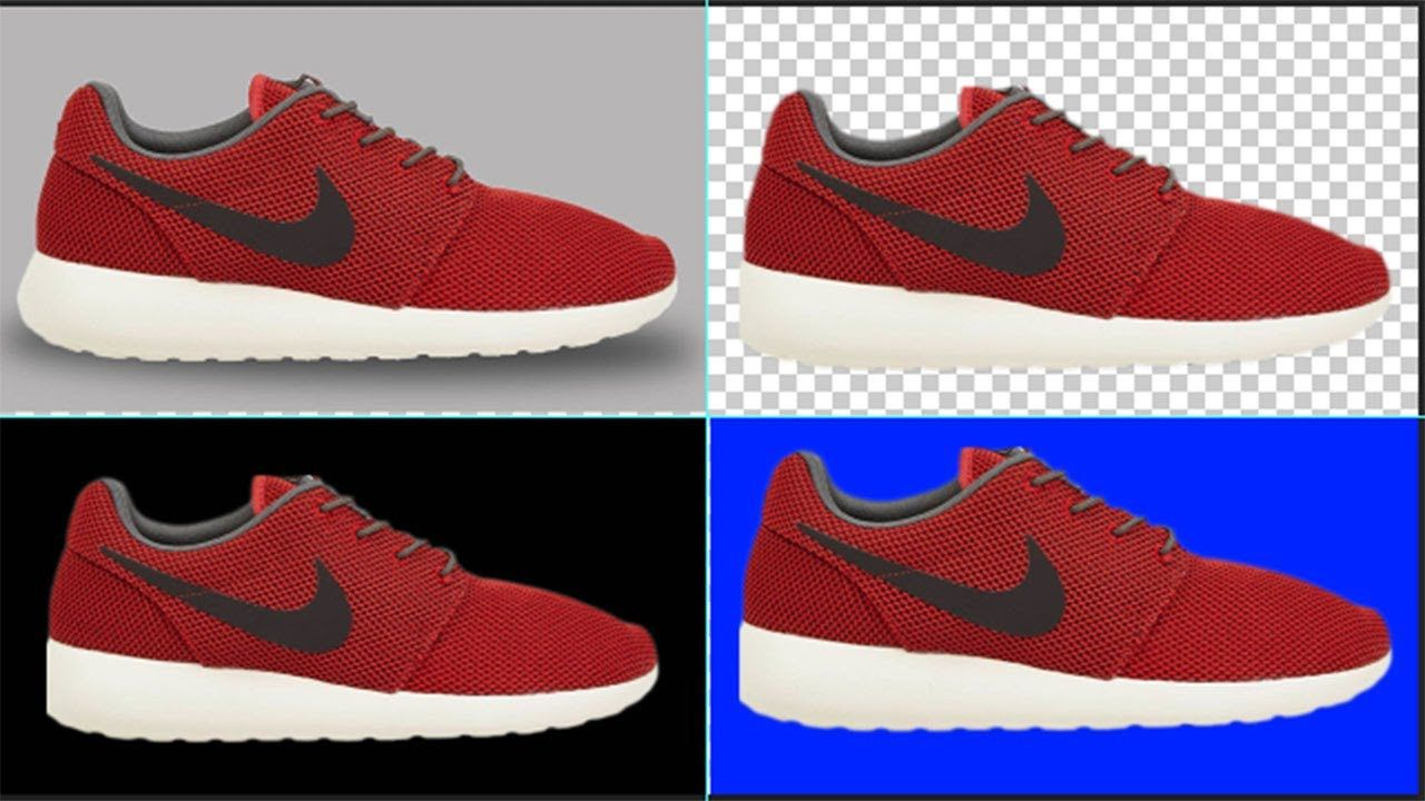 How to remove shoe background quickly cs6