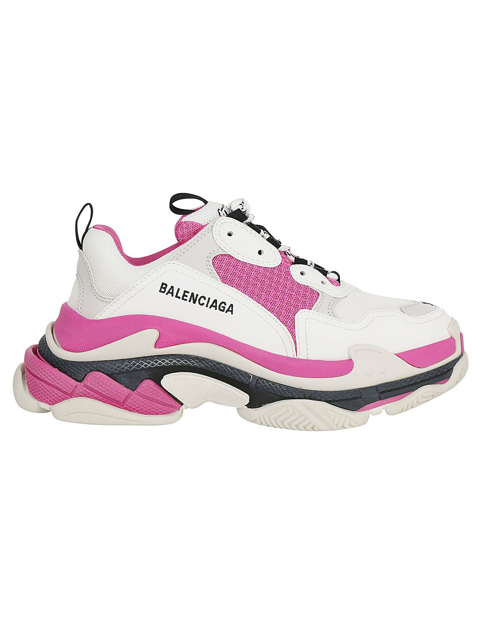 Balenciaga Triple S Pink Mesh And