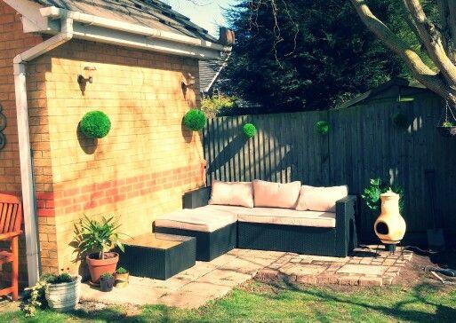 The lastest corner in the garden.