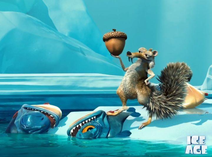 King Of The Piranhas Ice Age Animation Film Cartoon