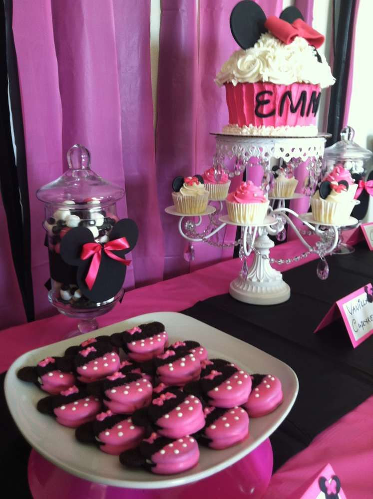 Minnie Mouse Birthday Party Ideas Photo 31 of 38 Catch
