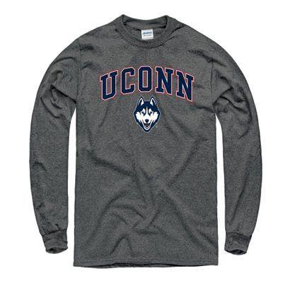 2b8ac5b8ac UConn Huskies Midsize Long Sleeve T-Shirt - Charcoal