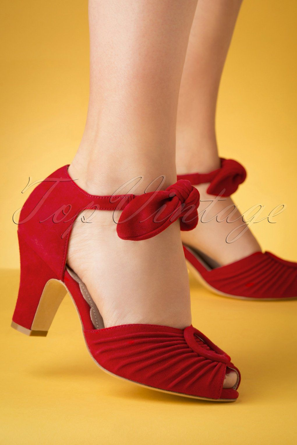 WOMENS CORAL HIGH-HEEL MARY-JANE COMFY WEDDING PROM PARTY COURT SHOES SIZE 2-7