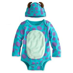 66806f4cc Straight from Monsters Inc - The Sulley Baby Onesie | Baby | Disney ...