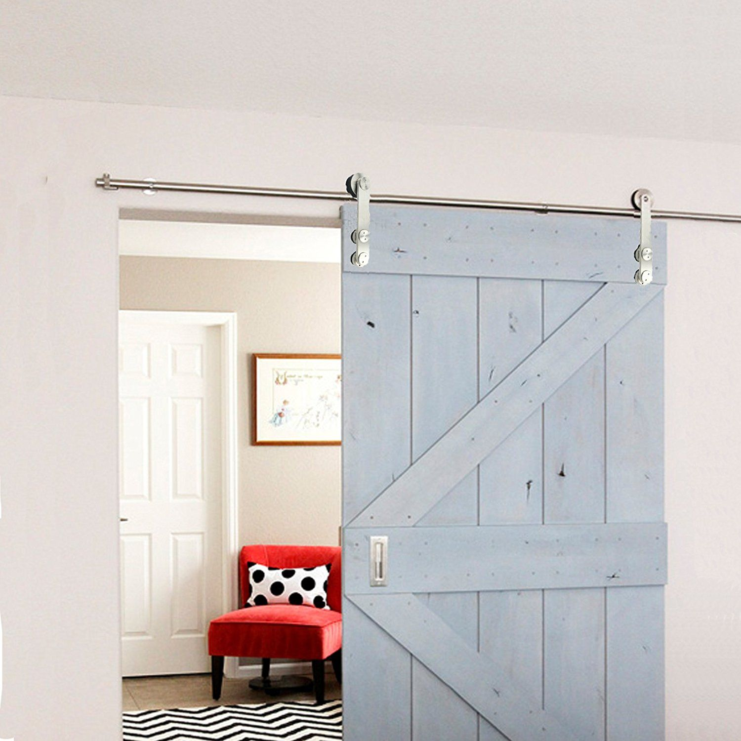 usa in pulls doors size quiet and modern sliding of stainless contemporary strongar handles made code coupon glide hardware door barn large steel track